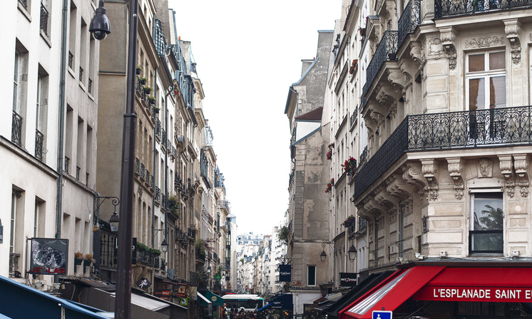 The Top Of A French Street