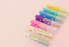 these colorful clothes pegs will help you get organized