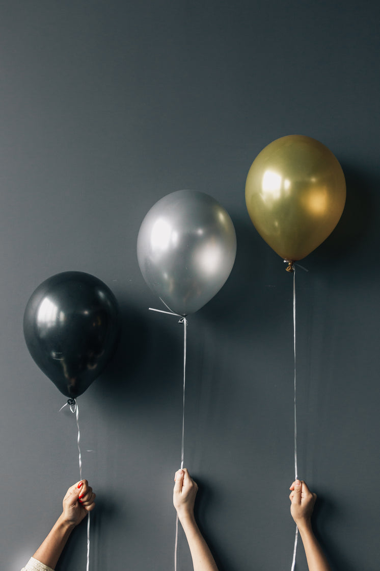 Three Party Balloons