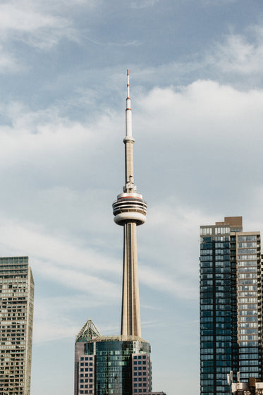 toronto city cn tower