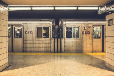 Picture of TTC Subway Arriving - Free Stock Photo