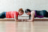 High Res Two Women Facing In Planks Picture — Free Images