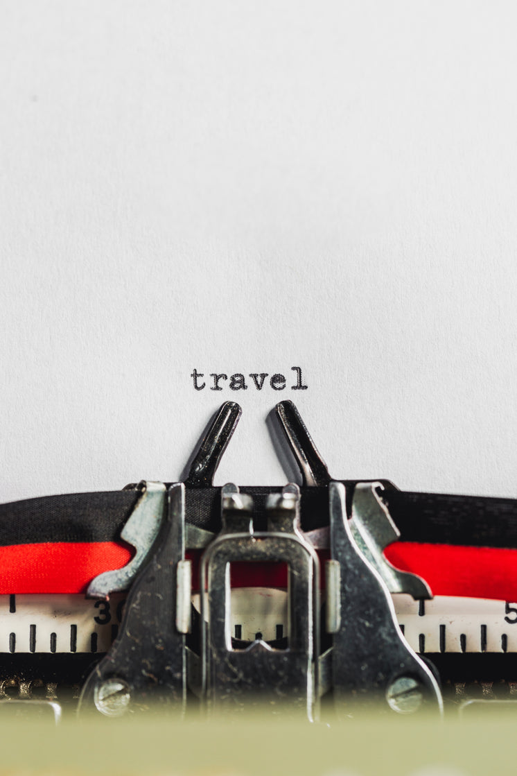 Typed Text Says 'Travel'