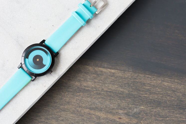 Unique Display Turquoise Watch