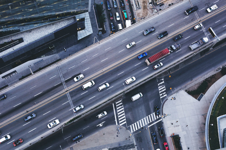 Urban Highway Traffic From Above