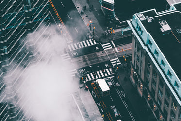 urban life from above