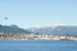 vancouver bc harbor by mountain side city