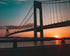 Verrazano Narrows Suspension Bridge Sunset