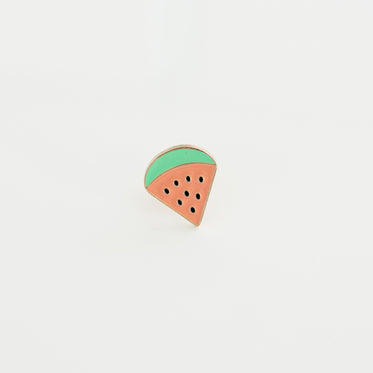 Picture of Watermelon Enamel Lapel Pin - Free Stock Photo