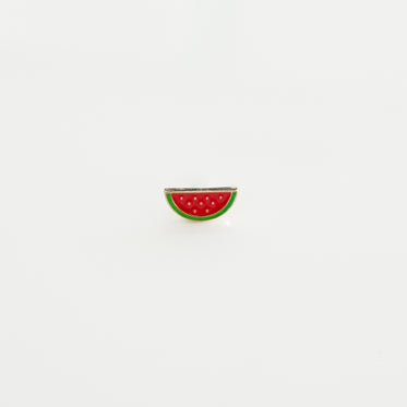 watermelon soft enamel lapel pin