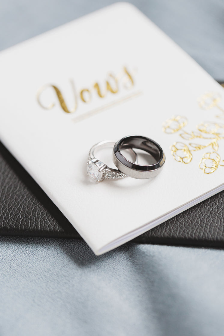 Wedding Rings With Wedding Vows