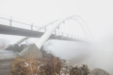 Browse Free HD Images of White Bridge In Fog