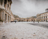 wide exterior shot of the palace of versailles