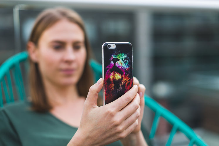 Woman With Cool iPhone