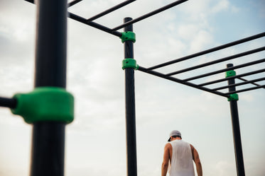 workout bars at park