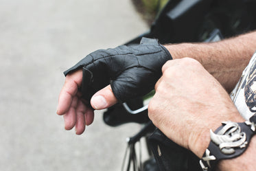 Picture of Worn Motorcycle Gloves — Free Stock Photo