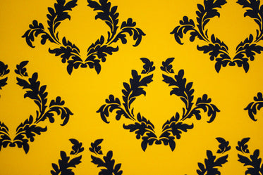 yellow regal filagree pattern