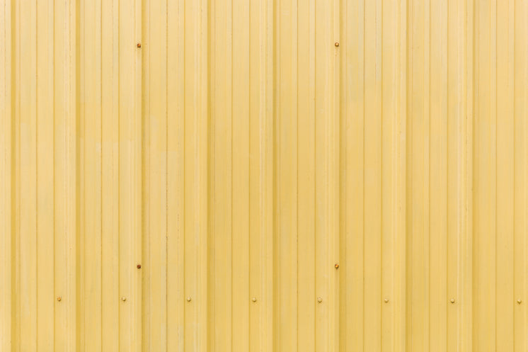 Yellow Tin Roof Texture