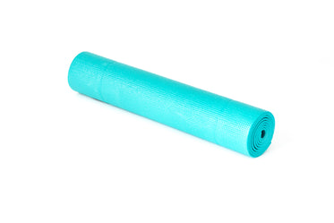 yoga mat rolled